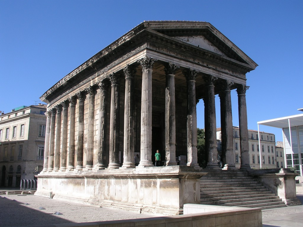 El the ketchums in france sunday july 15 - Maison carree nimes ...